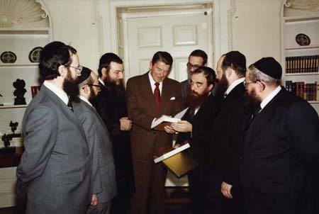 Reagan and the Chabad